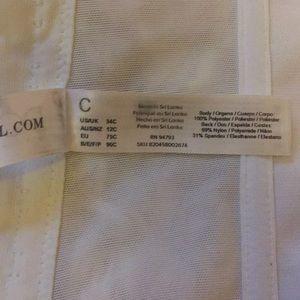 dominique Intimates & Sleepwear - David's Bridal Strapless Corset Bra 34C